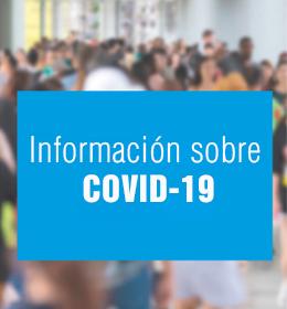 Información sobre COVID-19 image